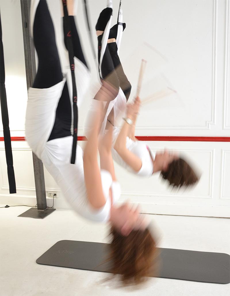 Ana Yerno, Aerial Yoga, Yoga aérien, Tikana Fly
