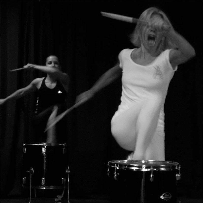 Ana Yerno, Ana Drums, Drums and Gym
