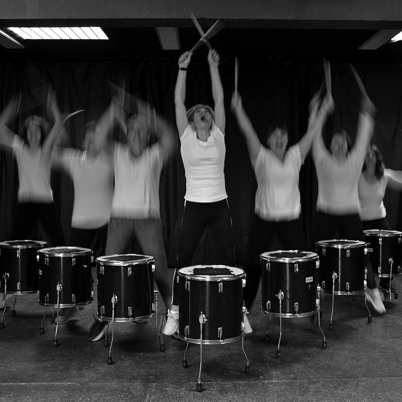 Ana Yerno, Ana Drums, Drums and Gym
