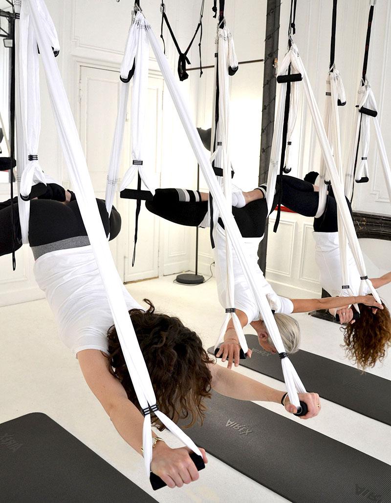 Ana Yerno, Aerial Yoga, Yoga aérien