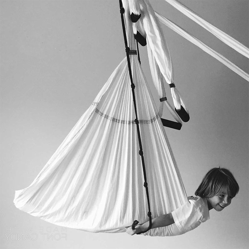 Ana Yerno, Sport art Wellness, Ana Fly, Aerial Yoga