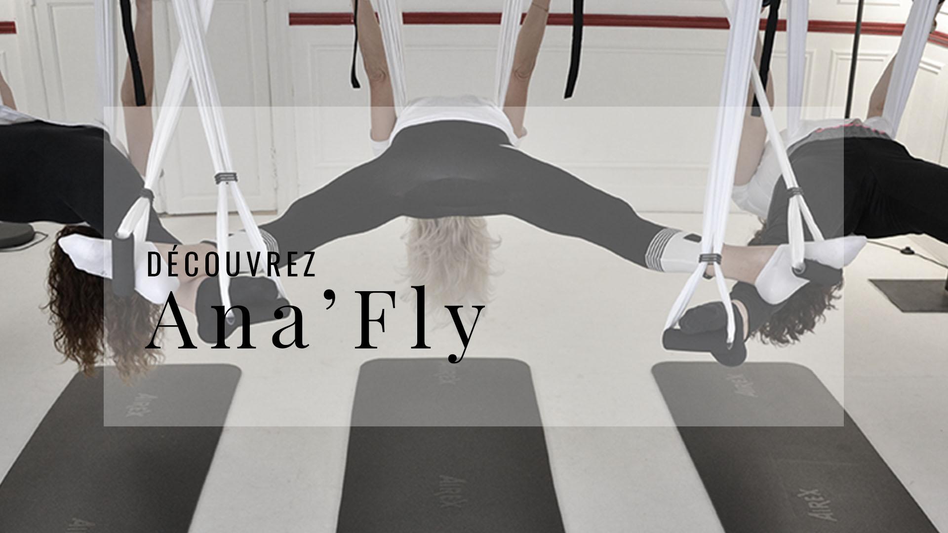 Ana Yerno, Aerial Yoga, Yoga aérien, Tykana Fly